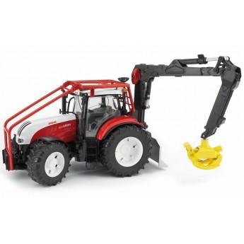 Іграшка трактор з маніпулятором Steyr CVT 6230 Bruder 03092