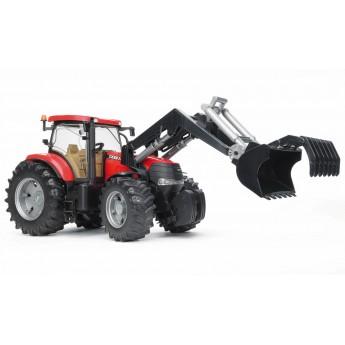 Игрушка Bruder трактор Case CVX 230 с погрузчиком (03096)