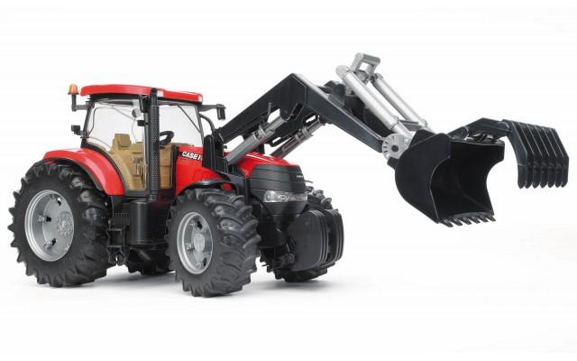 Іграшка трактор з навантажувачем Case CVX 230 Bruder 03096