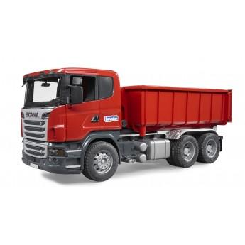 Іграшка самоскид-контейнеровоз Scania Bruder 03522