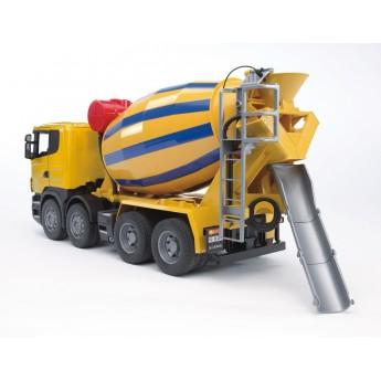 Игрушка Bruder бетономешалка Scania (03554)