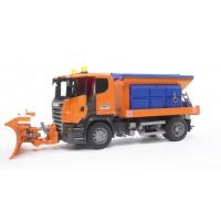 Іграшка снігоприбиральна машина Scania Bruder 03585