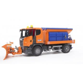 Игрушка Bruder снегоуборочная машина Scania (03585)