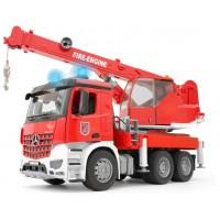 Игрушка Bruder пожарный автокран Mercedes Arocs (03675)