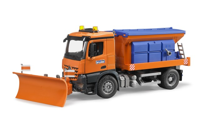 Іграшка снігоприбиральна машина Mercedes Arocs Bruder 03685