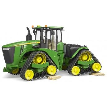 Игрушка Bruder трактор John Deere 9620RX на гусеницах (04055)