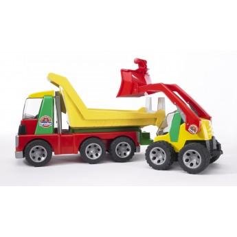 Іграшка вантажівка з навантажувачем Roadmax Bruder 20070