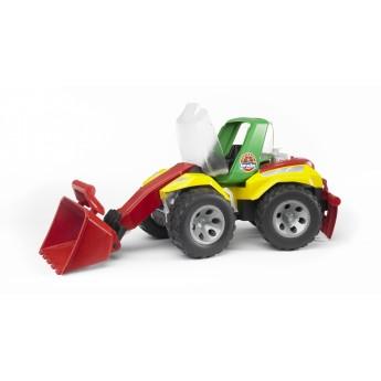 Игрушка Bruder ROADMAX Погрузчик с ковшом и разрыхлителем (20106)