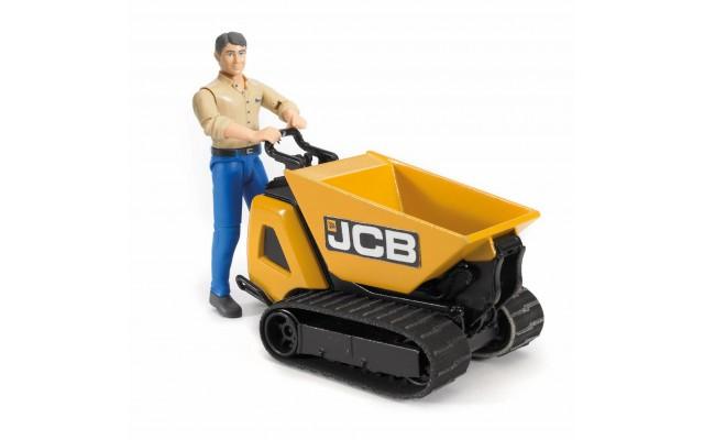 Іграшка перевізник сипучих вантажів JCB Dumpster HTD-5 з робочим Bruder 62004