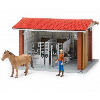 Іграшка стайня з вершницею і конем Bruder 62520