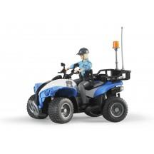 Фигурка женщина-полицейский на квадроцикле Bruder (63010)