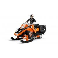 Іграшка снігохід з водієм Bruder 63101