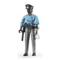 Фігурка чорношкіра жінка-поліцейський Bruder 60431