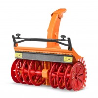 Игрушка Bruder снегоуборочная прицепная машина (02349)