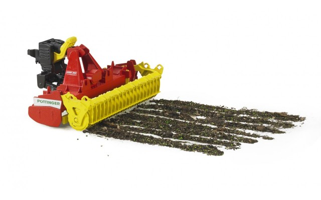 Іграшка борона роторна Pottinger Lion 3002 Bruder 02346