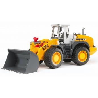Іграшка грейдер колісний Liebherr L574 Bruder 02430
