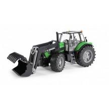 Игрушка Bruder трактор Deutz Agrotron X720 с погрузчиком (03081)