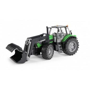 Іграшка трактор з навантажувачем Deutz Agrotron X720 Bruder 03081