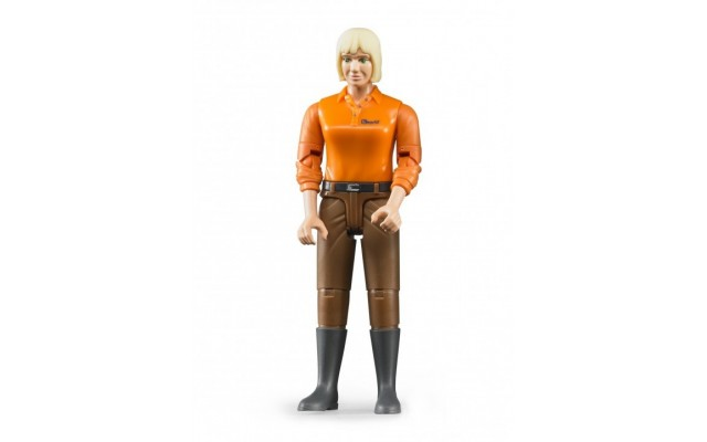 Фігурка жінка в чоботях Bruder 60407