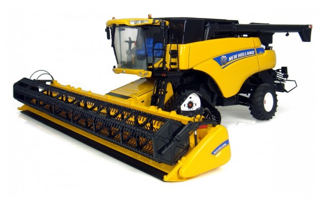 Игрушка комбайн New Holland CR-9090, M1:32