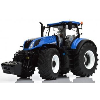 Игрушка трактор New Holland T7.315 Blue, 1:32