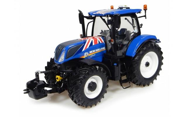 Игрушка трактор New Holland Т7.225 Union Jack Edition, M1:32
