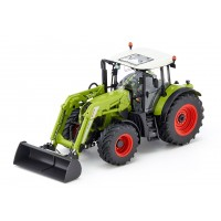 Іграшка трактор Claas Arion 650 з навантажувачем