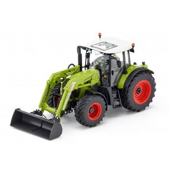 Игрушка трактор Claas Arion 650 с погрузчиком