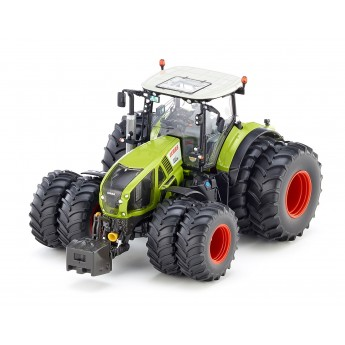 Іграшка трактор Claas Axion 950 на спарці