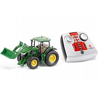 Іграшка трактор John Deere 7R на радіокеруванні Siku (6777)