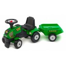 Трактор педальный Power Master (Falk 1014B) c прицепом