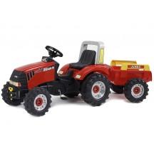 Детский педальный трактор Falk 930AB Case  CVX 170