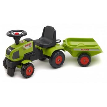 Трактор-каталка Falk 1012B Claas Axos 310 c прицепом