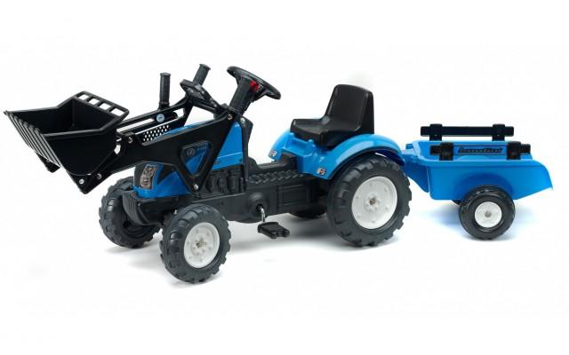Трактор педальний Falk 2050CM Landini Powermondial з навантажувачем і причіпом