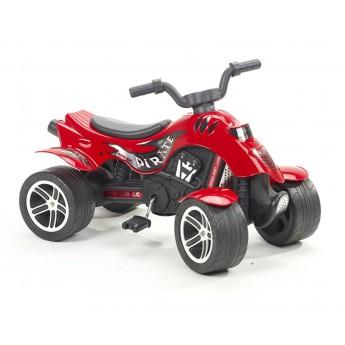 Квадроцикл на педалях Falk 600 Pirate красный