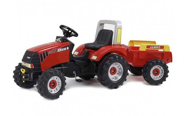 Дитячий педальний трактор Falk 930AB Case CVX 170