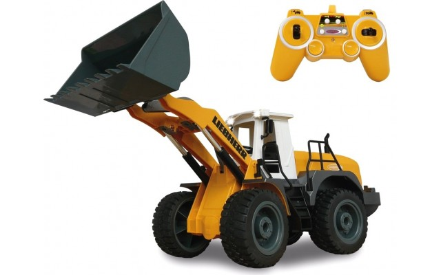 Іграшка колісний навантажувач Liebherr 564 на радіокеруванні Jamara (405007)