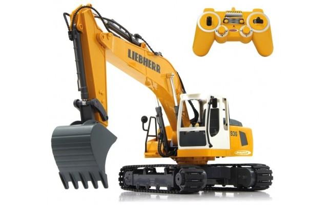 Іграшка екскаватор Liebherr R936 на радіокеруванні Jamara (405060)