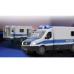 Полицейский фургон Mercedes Sprinter на р/у Jamara (405165) title=
