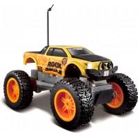 Машинка на р/у монстр-трак Maisto Tech Rock Crawler Jr. жовто-чорна (81162 yellow/black)