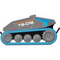 Всюдихід на р/у Maisto Tech Tread Shredder гусеничний сіро-блакитний (82101 gray/blue)