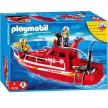 Playmobil 3128 Пожарный катер с водометом - игрушка Плеймобил