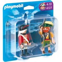 Playmobil 4127 Пират и английский солдат - фигурки Плеймобил