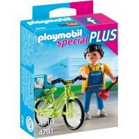 Playmobil 4791 - Мастер с инструментами на велосипеде - фигурка Плеймобил Special Plus
