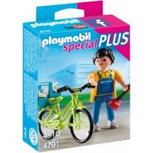 Playmobil 4791 - Майстер з інструментами на велосипеді - фігурка Плеймобіл Special Plus