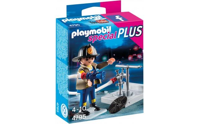 Playmobil 4795 - Пожежник з гідрантом - фігурка Плеймобіл Special Plus