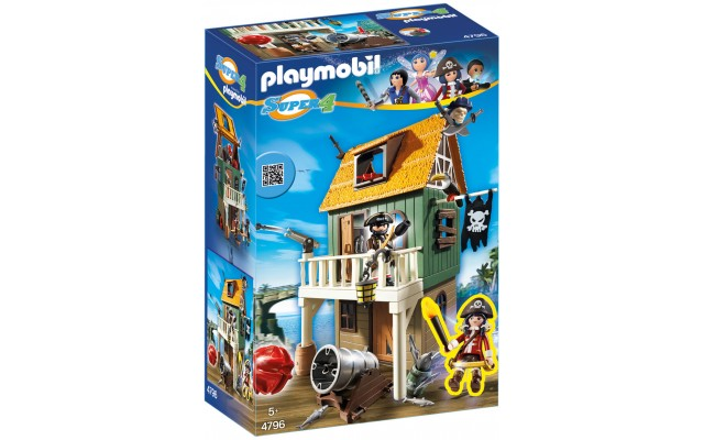 Playmobil 4796 - Пиратская бухта - конструктор Плеймобил Super 4