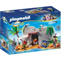 Playmobil 4797 - Пиратская пещера - конструктор Плеймобил Super 4