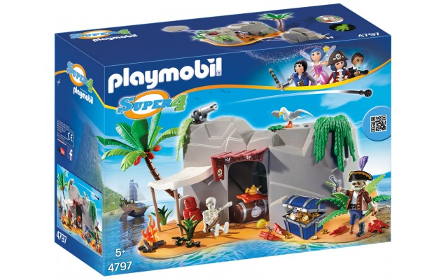 Playmobil 4797 - Піратська печера - конструктор Плеймобіл Super 4