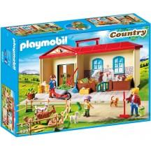 Playmobil 4897 Переносная ферма  - игровой набор Плеймобил